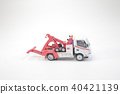 the figure of the toy tow truck 40421139