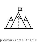 design, icon, line 40423710