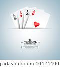 poker background illustration 40424400