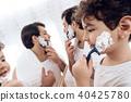 child, kid, shave 40425780