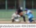 야구 대회 번트 이미지 보카시 40426000