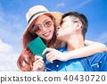 couple take passport 40430720