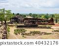 Wat Pho Champasak Historic Site, Laos 40432176
