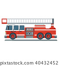engine fire vector 40432452