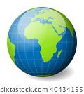 globe, earth, vector 40434155