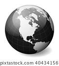 globe, earth, vector 40434156