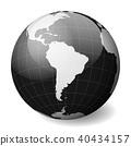 globe, earth, vector 40434157