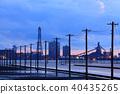 evening scene, factories, factory 40435265