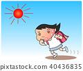 中暑 酷熱 小學學生 40436835