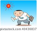 中暑 酷熱 男人 40436837