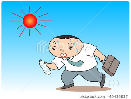 heatstroke, intense heat, gents 40436837
