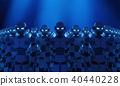 로봇, 로보트, 푸른 40440228