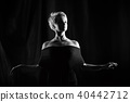 Girl dancing 40442712