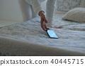 스마트폰, 스마트 폰, 여성 40445715