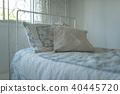방, 침대, 세련된 40445720