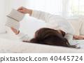 여성, 여자, 독서 40445724