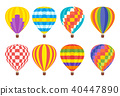 air balloon color 40447890