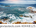 waves on the sea landscape 40448125
