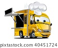 vector cartoon truck 40451724