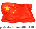国旗 瓷器 中国国旗 40454303