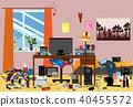 room,vector,disorganized 40455572