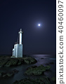 oarai, coast, light 40460097