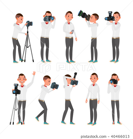 29+ Photographer Vector