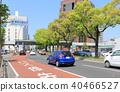 다카마쓰시의 중앙 거리 (쿠리바야시 마을에서 다카마쓰 역 방향보기) 40466527