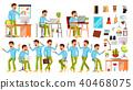 man, businessman, vector 40468075