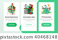 Website Banners Vector.  40468148