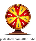 Fortune Wheel Vector.  40468561