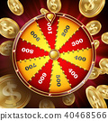 Wheel Of Fortune Design Vector. 40468566
