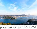 kanmon strait, kammon strait bridge, kanmonkyou 40468751