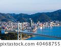 kanmon strait, kammon strait bridge, kanmonkyou 40468755