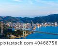 kanmon strait, kammon strait bridge, kanmonkyou 40468756