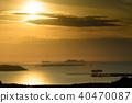 eventide, ocean, sea 40470087