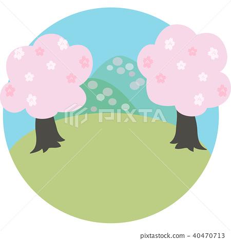 Spring landscape 40470713