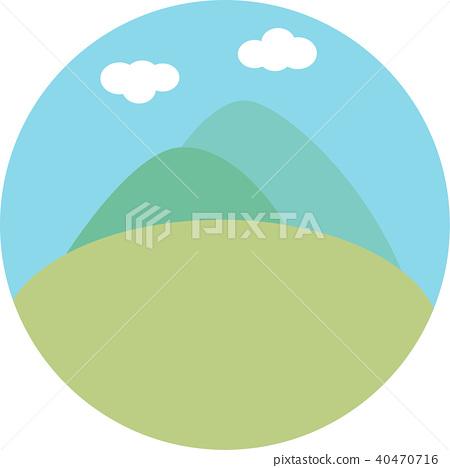 草原景觀 40470716