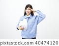 여성, 여자, 작업복 40474120