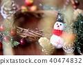 คริสต์มาส,พวงดอกไม้คริสต์มาส,ตุ๊กตาหิมะ 40474832