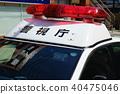 patrol car, police car, squad car 40475046