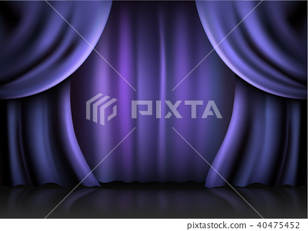 Background  curtain stage. 40475452