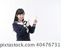 女学生水手服 40476731