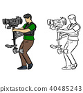 Carrier steady shot fights camera shake vector 40485243