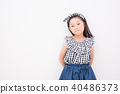 세련된 초등학생 여자 40486373