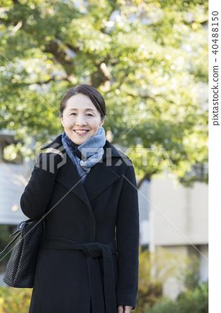 Mature woman outdoor 40488150
