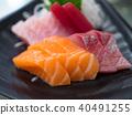 生魚片 刺身 日本料理 40491255