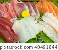 生魚片 刺身 日本料理 40491844