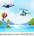 aircraft, vector, vehicle 40492403