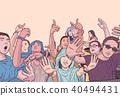 festival, concert, people 40494431